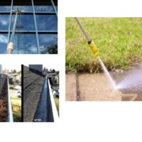 Pressure washing, window and gutter cleaning (North delta)
